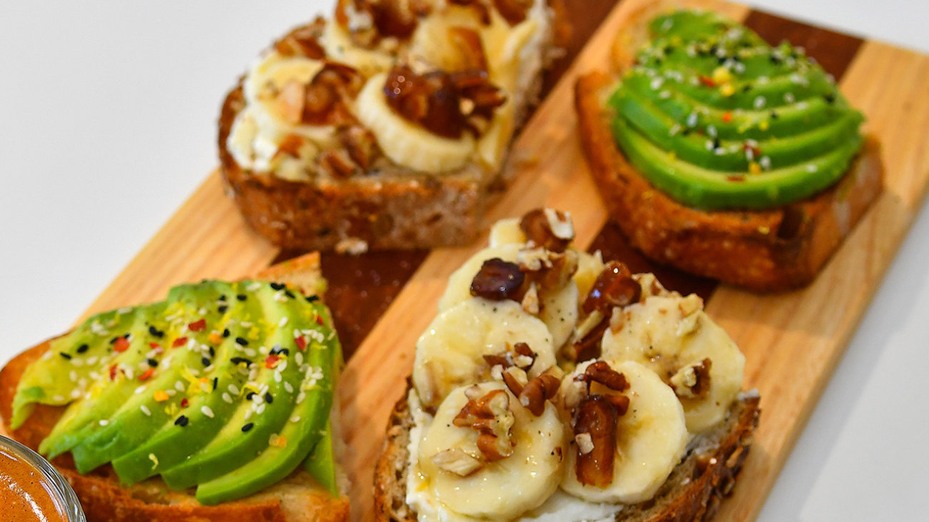 EPICUREAN TOASTS<br /> & SALADS
